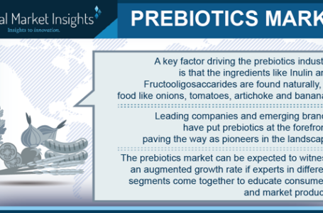 Prebiotics consumption expands in food and beverage applications – key nutritional benefits drive the ingredient demand