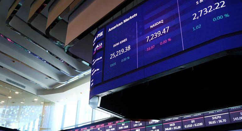 Stocks drop on lockdown fears as cases climb