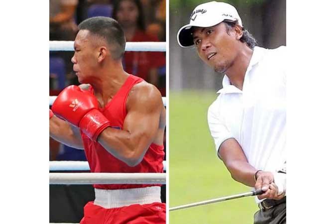 Boxer Eumir Felix Marcial and golfer Juvic Pagunsan begin Tokyo Olympic bids