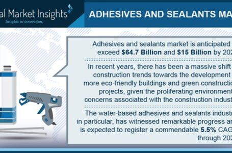 Adhesives and sealants to emerge as key bonding technologies in industrial manufacturing applications