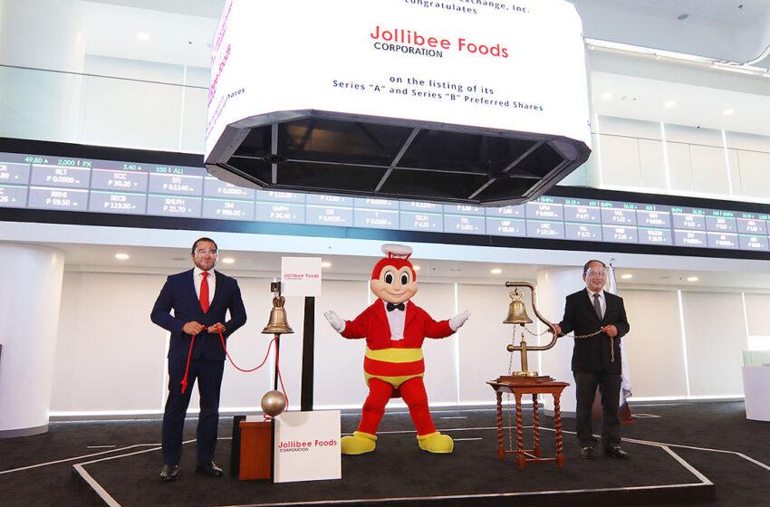 Jollibee's P12-billion follow-on offering draws retail investors